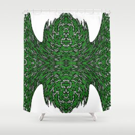 greener grass Shower Curtain
