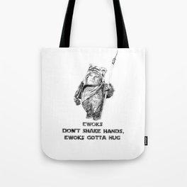 Ewok=Chris Farley Tote Bag
