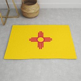 New Mexico Flag Rug
