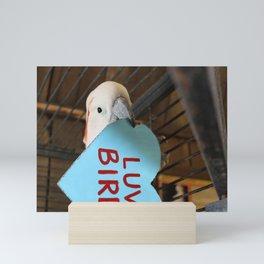 Luv Bird Mini Art Print