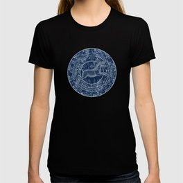 Unicorn stars sky map T-shirt