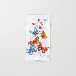 Butterflies Beautiful Butterflies Hand & Bath Towel