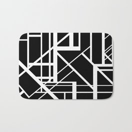 Roadway Of Abstraction - Interstate Abstract Path Bath Mat