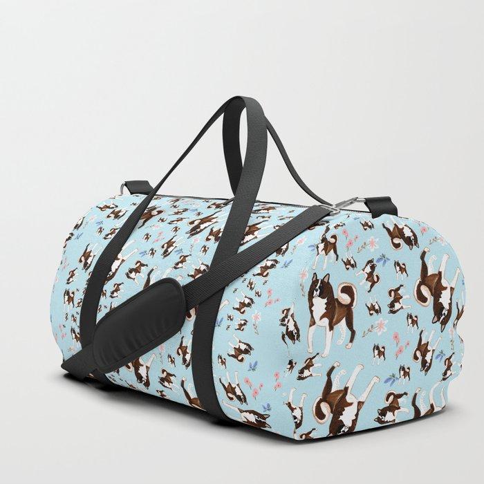 American Akita Duffle Bag