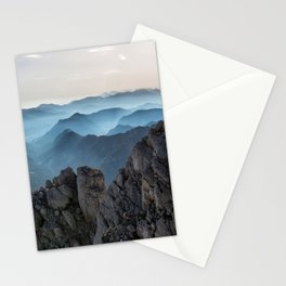 Mountains Alps Stationery Cards