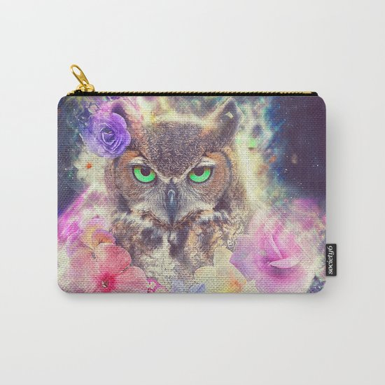 Space Owl with Spice Carry-All Pouch