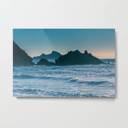 On a Saturday in Pacifica... Metal Print