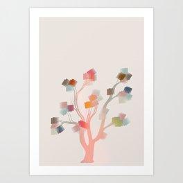 Árvore dos desejos Art Print