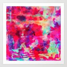 Hibiscus Dream Art Print