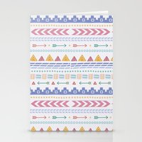 aztec Stationery Cards featuring Aztec by Joanne Hawker