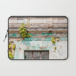 Old red door in Antigua, Guatemala Laptop Sleeve