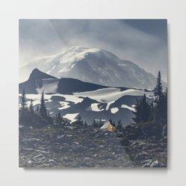 Mountain Sanctuary Metal Print