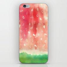 Watermelon drops iPhone & iPod Skin