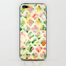 Clover Round iPhone & iPod Skin