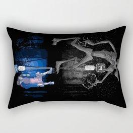 My Upside-down Neighbor Rectangular Pillow
