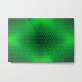 Green-grass-pattern Metal Print