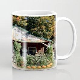 Vermont Farm Stand in Foliage Season Coffee Mug