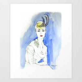 Marian Art Print