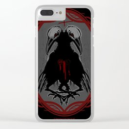The Twins Clear iPhone Case