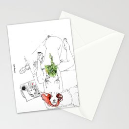 lovely breakfast 2 Stationery Cards
