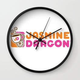 Jasmine Dragon  Wall Clock