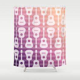 Rockstar art Shower Curtain