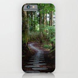 walk on the stones iPhone Case
