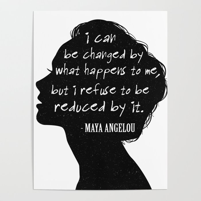 Inspirational Quote For Independent Women Feminist Poster by kick-ass-art