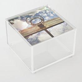 Hoosier Basketball Acrylic Box