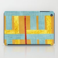 50s iPad Cases featuring 50s block colour by Pagan Sovereign Studios