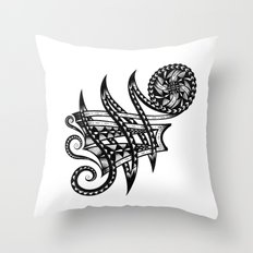 Shoulder Band Tattoo Throw Pillow