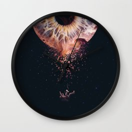 Everything is an illusion Wall Clock