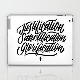 Justification - Sanctification - Glorification Laptop & iPad Skin