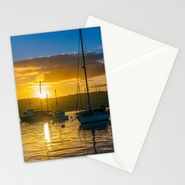 Sailboat Sunrise Stationery Cards