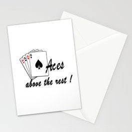 Aces Above the Rest Stationery Cards
