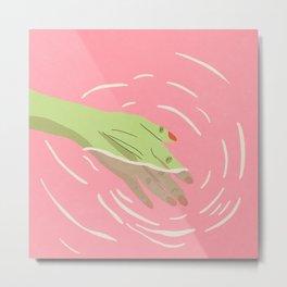 Pink's Waters Metal Print