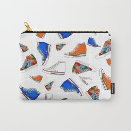 Different sneakers pattern Carry-All Pouch