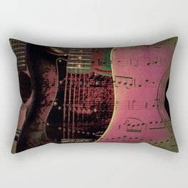 PINK GUITARS Rectangular Pillow