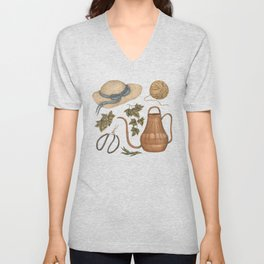 May Gardening Collection Unisex V-Neck