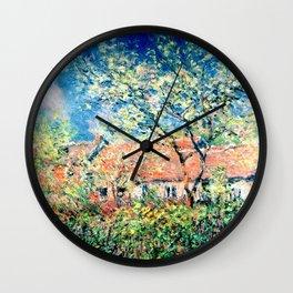 Springtime at Giverny Wall Clock