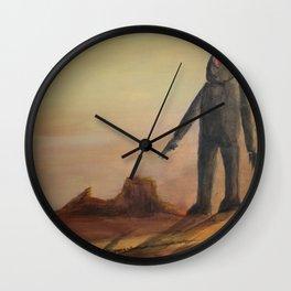 Herding Wall Clock