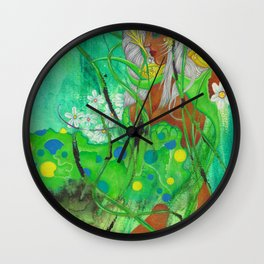 Libra: The Fair Lady (Sep 23 - Oct 22) / Gouache Original A4 Horoscope Illustration / Painting Wall Clock