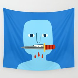 Bite Wall Tapestry