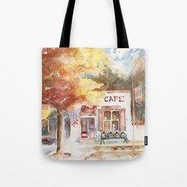 Morning at the Hillsboro General Store Tote Bag
