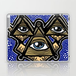 Three Masons in Space Laptop & iPad Skin