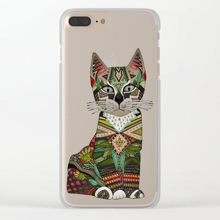 pixiebob kitten cream Clear iPhone Case