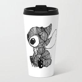 Geometric Stitch Travel Mug