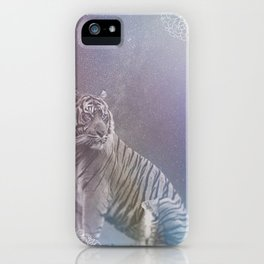Kitten and Tiger iPhone Case