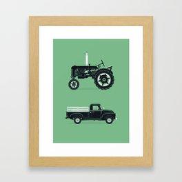 Good Machinery Framed Art Print