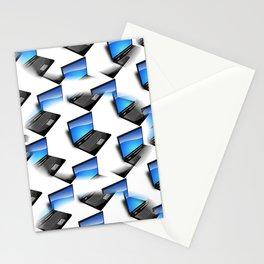 Computer glitch Stationery Cards
